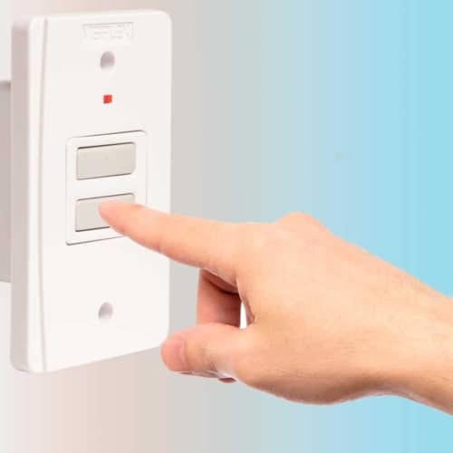 Wireless Wall Mounted Button