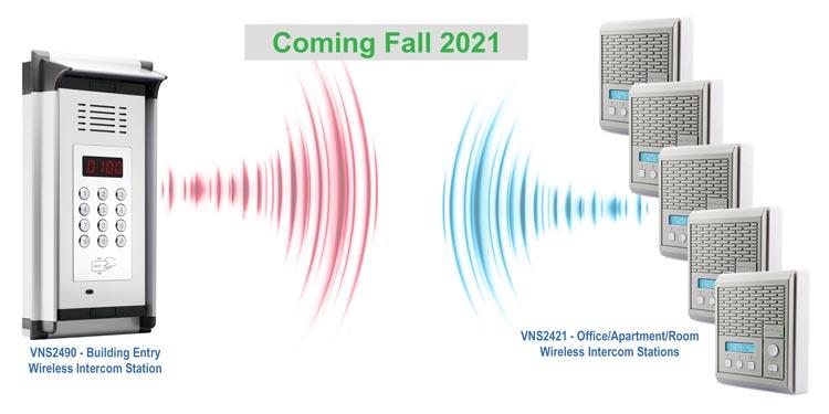 Wireless Entry Intercom System