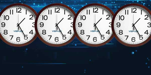 Wireless Synchronized Clocks