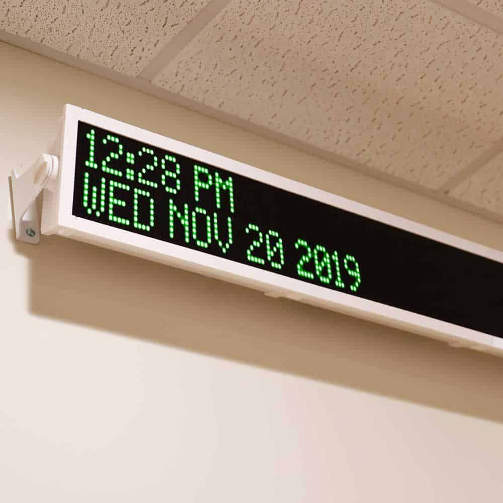 Wireless LED Message Board Display