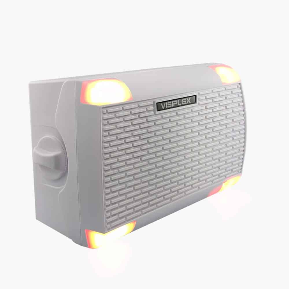 Wireless PA Speaker with Beacon Lights