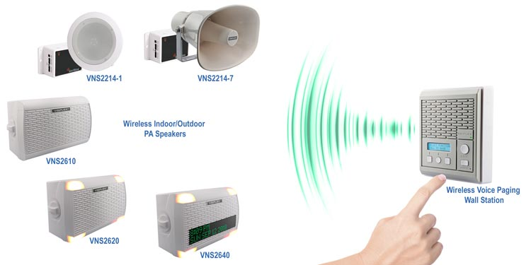 Wireless Voice Paging System