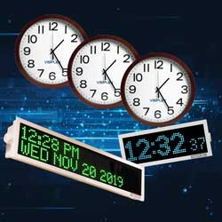 Wireless Clock Systems