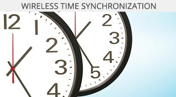 Wireless Synchronized Clock Systems